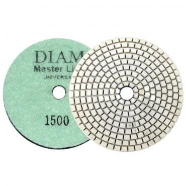 Круг алмазный шлифовальный гибкий DIAM MasterLine Universal зерно 1500 для мокрой и сухой шлифовки