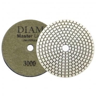 Круг алмазный шлифовальный гибкий DIAM MasterLine Universal зерно 3000 для мокрой и сухой шлифовки