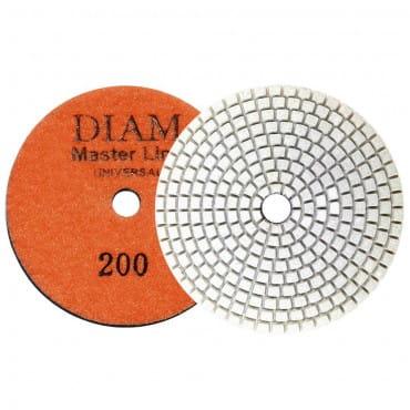 Круг алмазный шлифовальный гибкий DIAM MasterLine Universal зерно 200 для мокрой и сухой шлифовки