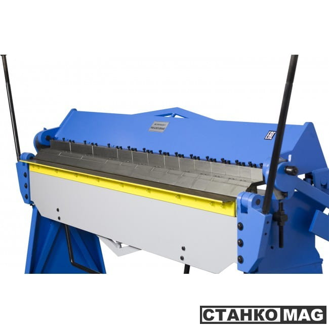 Blacksmith W2.5x2040A Сегментный листогибочный ручной станок