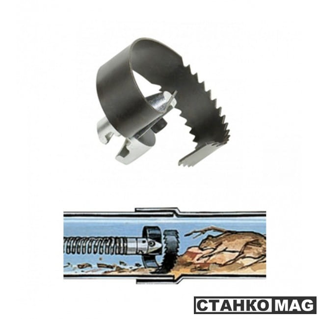"""Нож пила спиральный RIDGID T-22 3"""" (75 мм)"""
