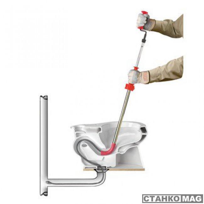 Спираль туалетная с грушевидной головкой RIDGID K-6P