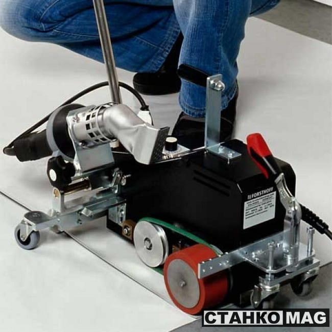Автоматический сварочный аппарат для сварки баннеров, тентов FORSTHOFF F1090P2