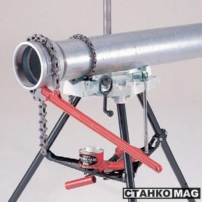 Верстак тиски портативный складной Rex 120CVB