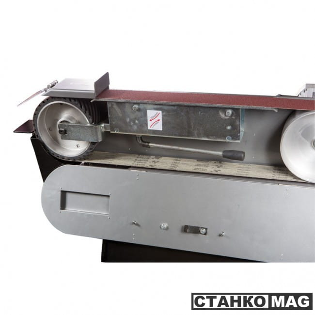 Ленточный шлифовальный станок Jet JBSM-75 400V