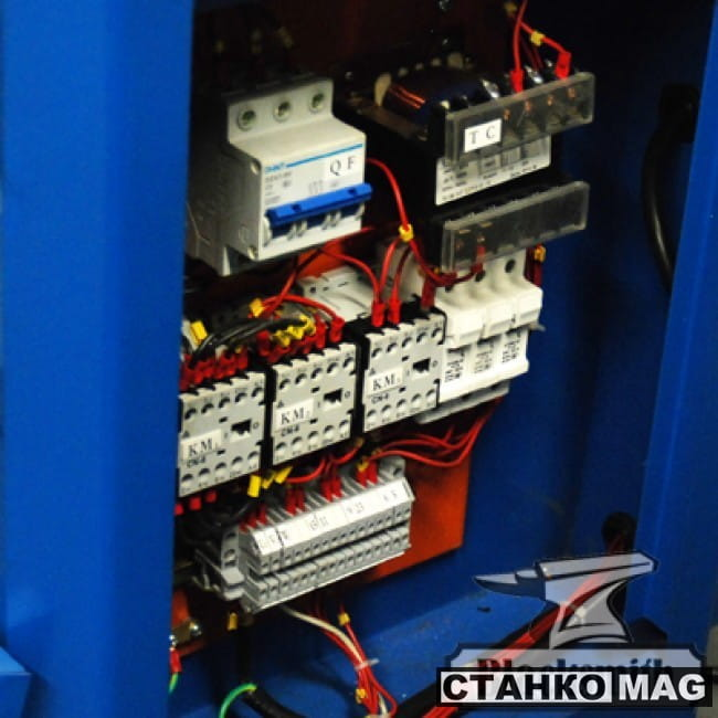 Трубогиб электрический роликовый, профилегиб Blacksmith ETB51-40HV