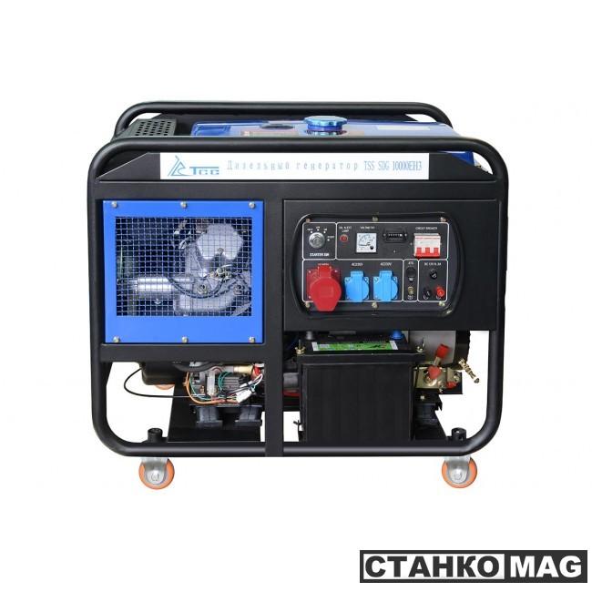 Дизель генератор ТСС SDG 10000EH3