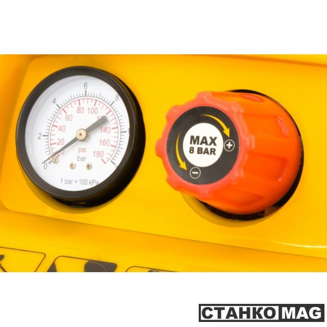 Denzel Компрессор воздушный безмасляный РС 1/6-180 (1,1 кВт, 180 л/мин, 6 л)