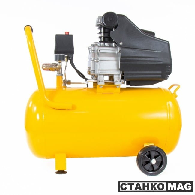 Denzel Компрессор воздушный PC 1/50-205 (1,5 кВт, 206 л/мин, 50 л)