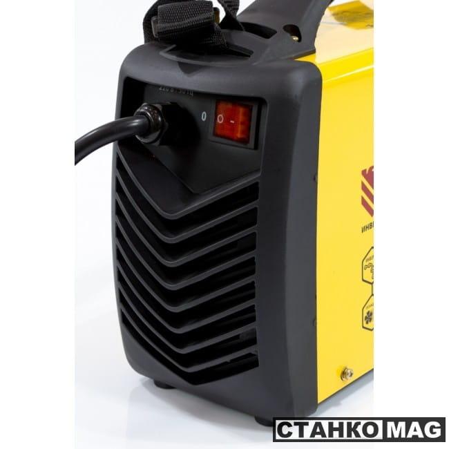 Denzel Аппарат инверторный дуговой сварки ММА-180ID (180 А, ПВР 60%, диам.эл. 1,6-4 мм, провод 2м)