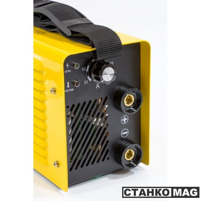 Denzel Аппарат инверторный для дуговой сварки ММА-200 Compact (200 А, ПВР 60%, диам. 1,6-5 мм)