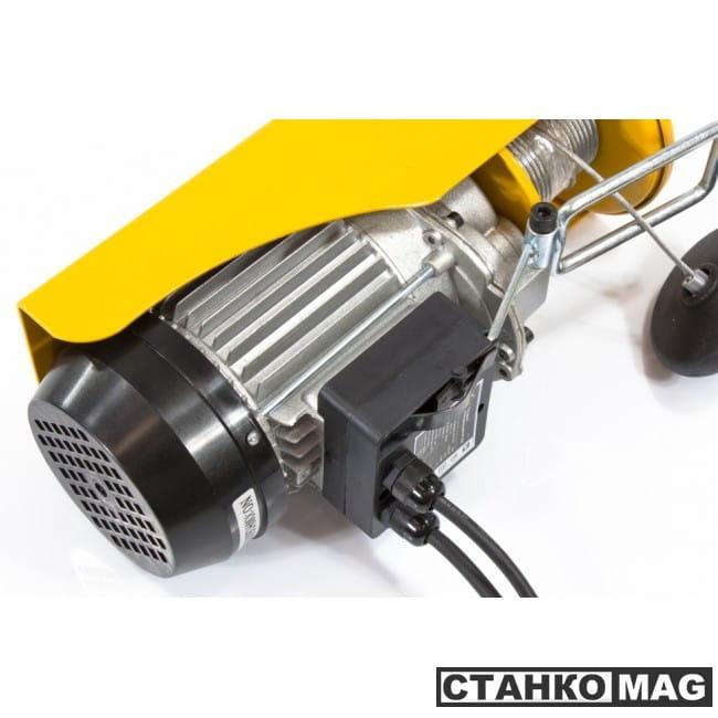 Denzel Тельфер электрический TF-250 (0,25 т, 540 Вт, высота 12 м, 10 м/мин)