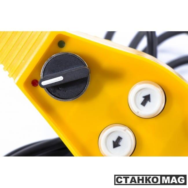 Denzel Лебедка автомобильная электрическая LB-2000 (2,2 т, 3,2 кВт, 12 В)