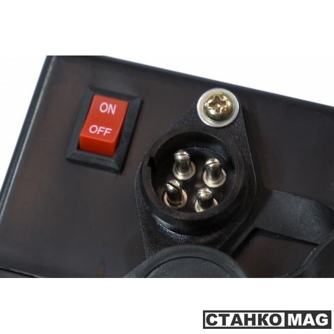 Denzel Лебедка автомобильная электрическая 4,5 т, 12 В