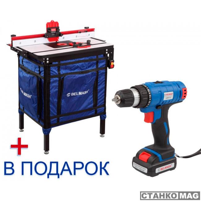 БЕЛМАШ RT800 Основание фрезерного станка