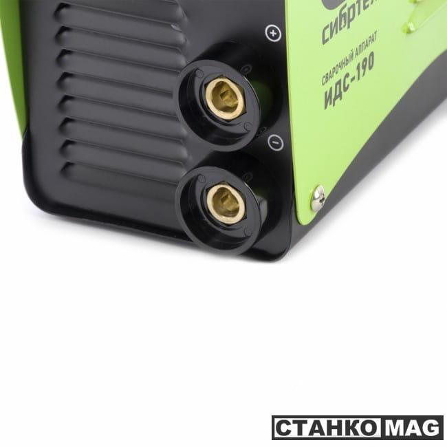 Аппарат инвертор. дуговой сварки СибрТех ИДС-190 (190 А, ПВ 80%, диам.эл. 1,6-4 мм)