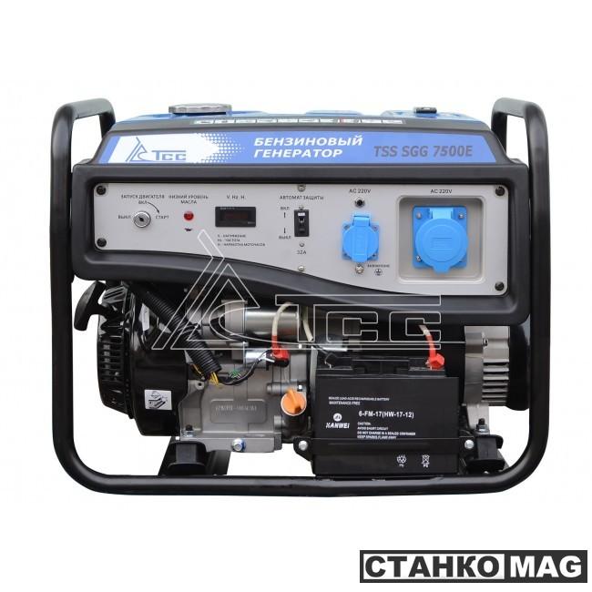 Бензогенератор ТСС SGG 7500E