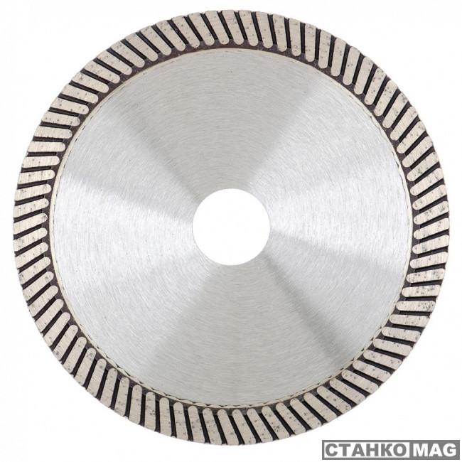 Диск алмазный GROSS, 125 х 22,2 мм, турбо, сухая резка