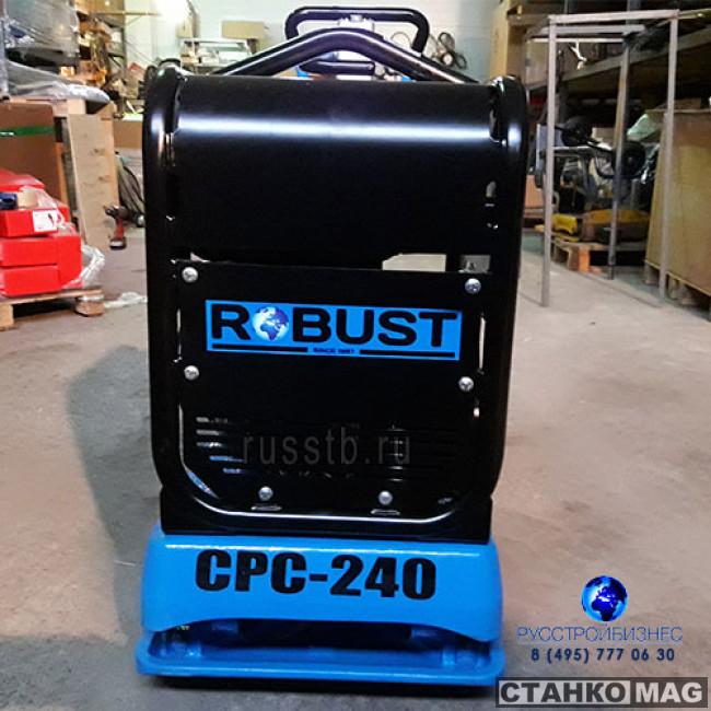 Виброплита ROBUST CPC-240-D (260 кг)