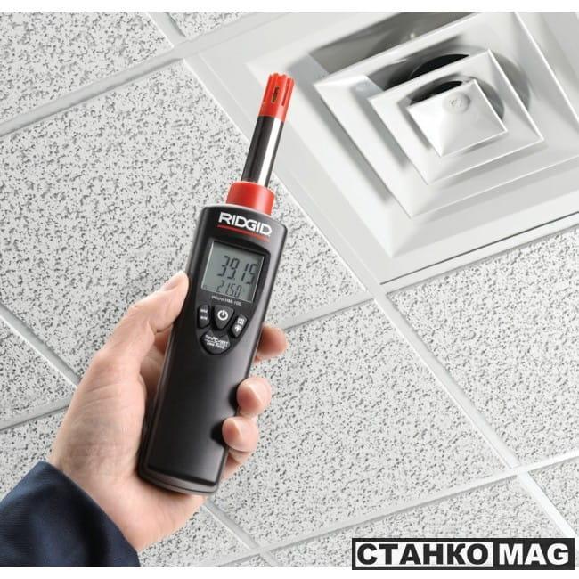 Измеритель температуры и влажности RIDGID micro HM-100