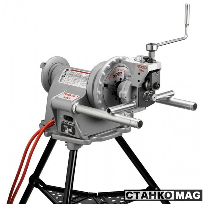 Желобонакатчик комбинированный RIDGID 975 для силового привода 300 сталь