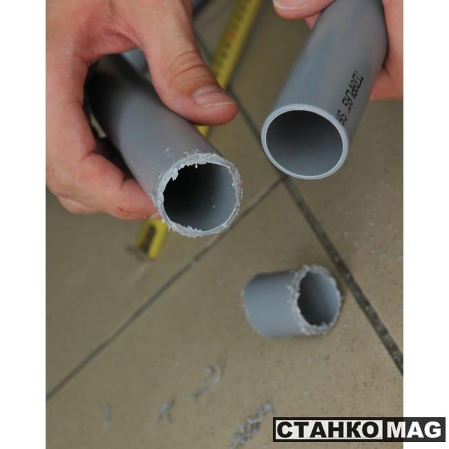 Труборез для пластиковых сточных труб RIDGID PTEC 3240
