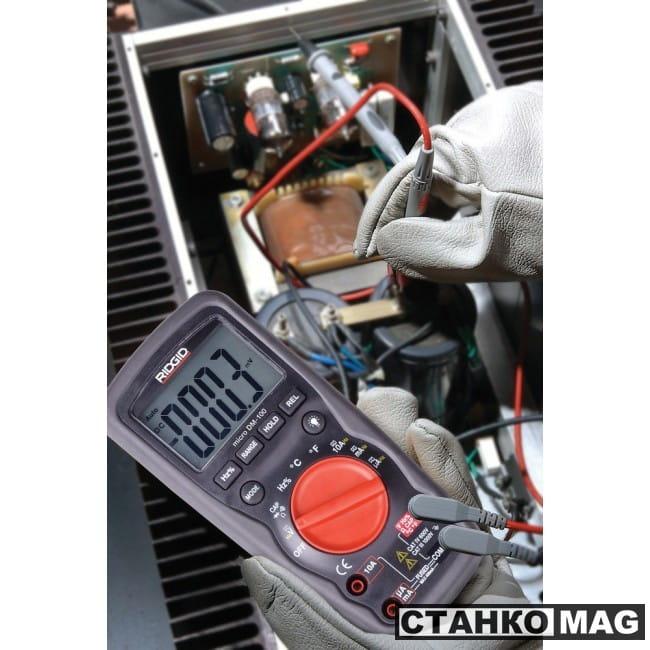 Мультиметр цифровой RIDGID micro DM-100