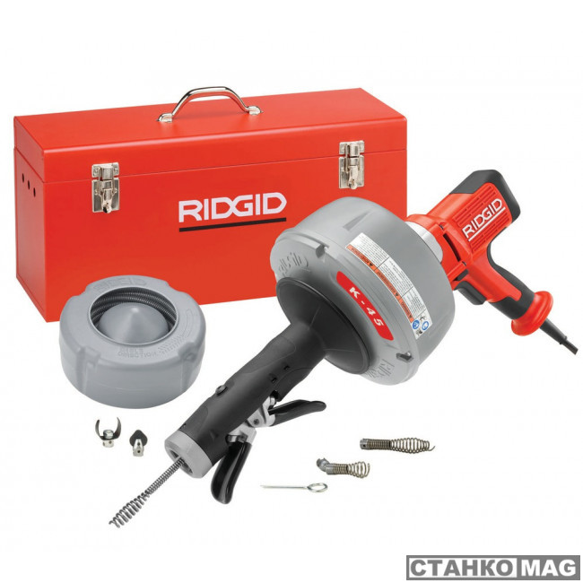 Машина прочистная электрическая портативная RIDGID K-45AF-5 230 В