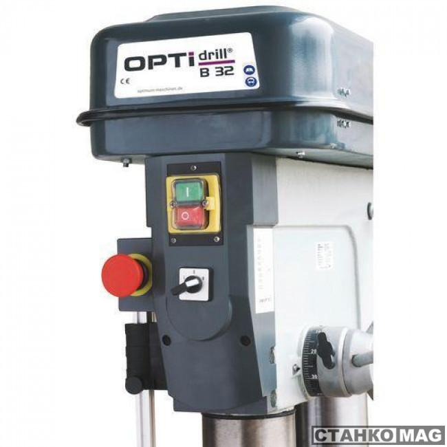 Вертикально-сверлильный станок OPTIMUM OPTIdrill B 25