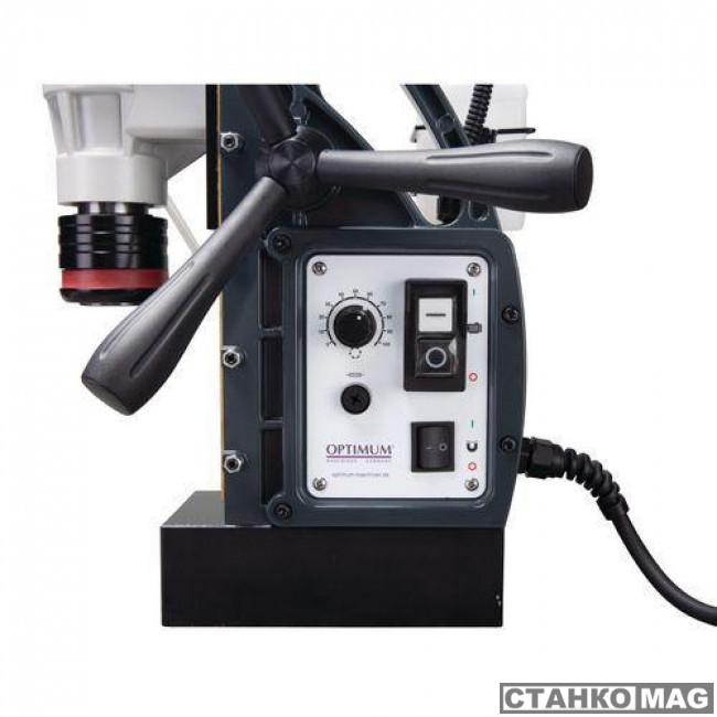 Магнитный сверлильный станок OPTIMUM OPTIdrill DM 50V