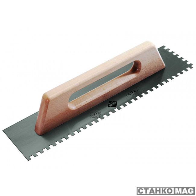 480 мм зуб 8x8 мм с деревянной ручкой 65959 в фирменном магазине RUBI
