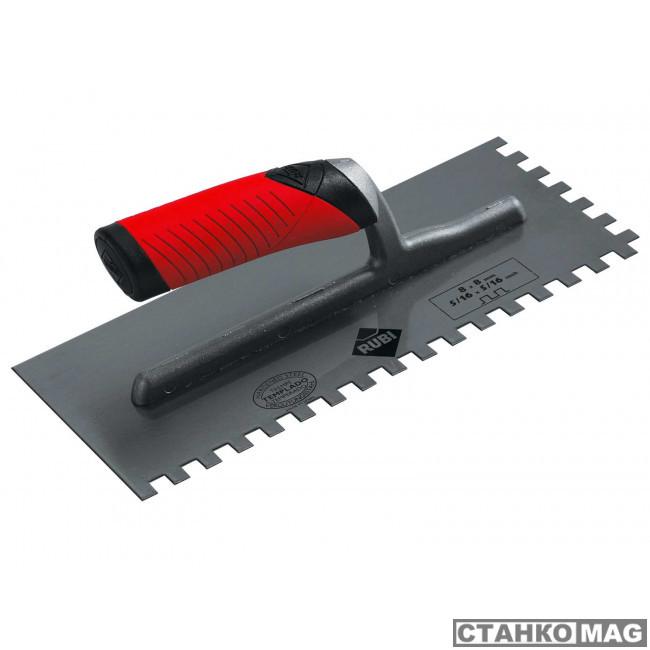 280х120 мм зуб 8x8 мм с двухкомпонентной ручкой 74940 в фирменном магазине RUBI