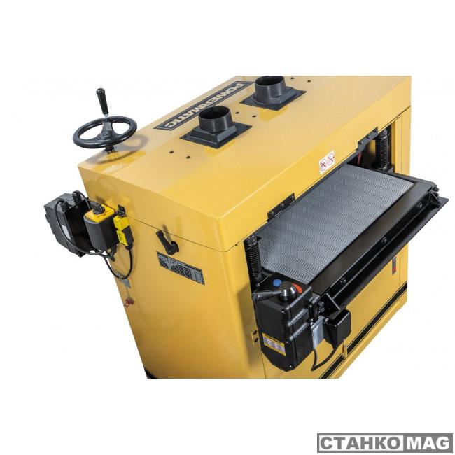 Двухбарабанный шлифовально-калибровальный станок JET Powermatic DDS-225