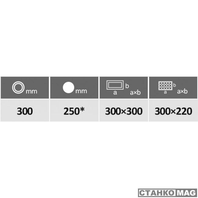 Ленточнопильный станок PEGAS-GONDA 300×300 HERKULES X-CNC