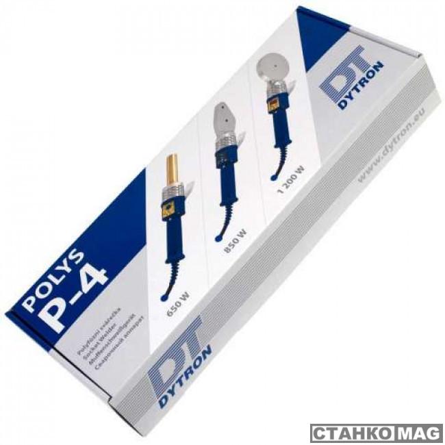 Паяльник для сварки полипропиленовых труб DYTRON Polys P-4a 850W TraceWeld SOLO
