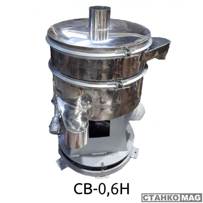 Вибросито круглое Вибромаш CВ-0,6Н (4 деки)