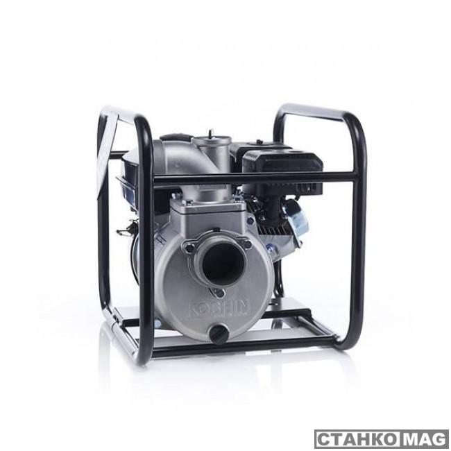 Бензиновая мотопомпа для средне-загрязненных вод Koshin SEV-80X