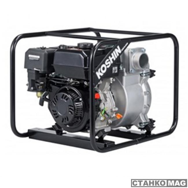 Бензиновая мотопомпа для сильнозагрязненной воды Koshin KTZ-80X