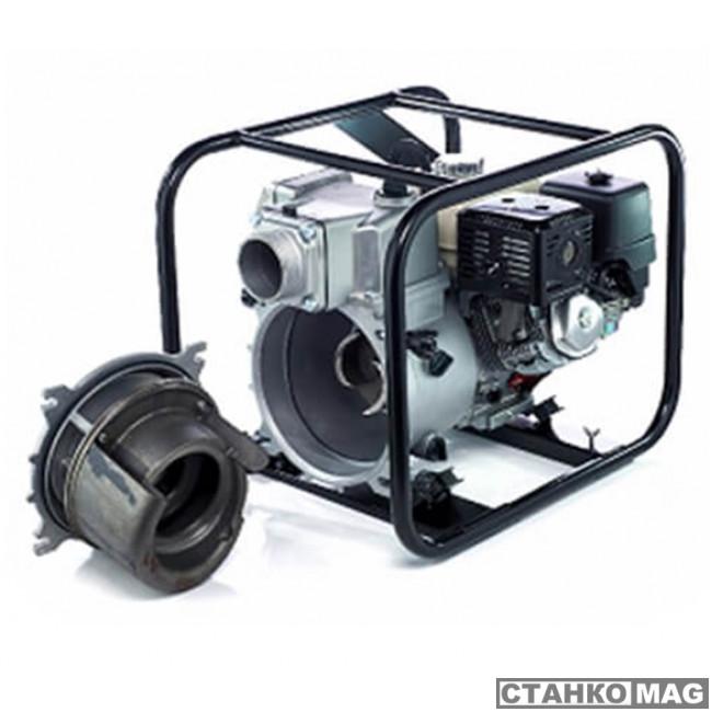 Бензиновая мотопомпа для сильнозагрязненной воды Koshin KTZ-100S