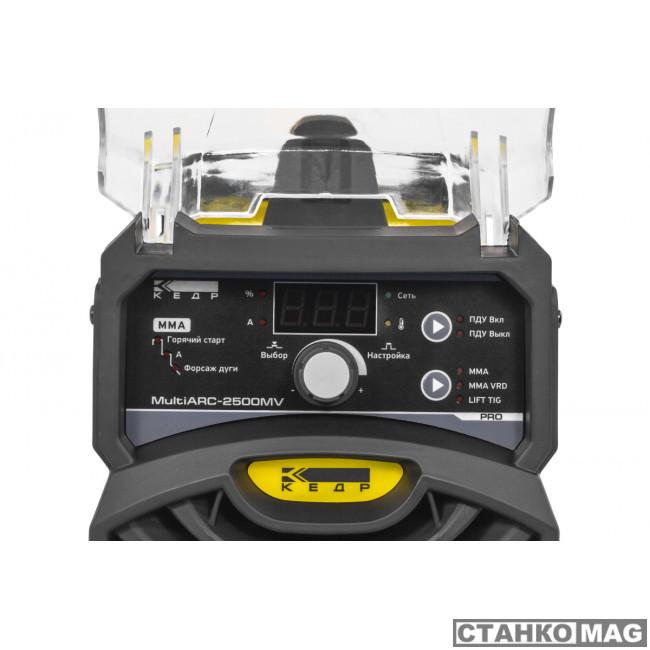Аппарат инверторный КЕДР MultiARC-2500MV (Компактный корпус)