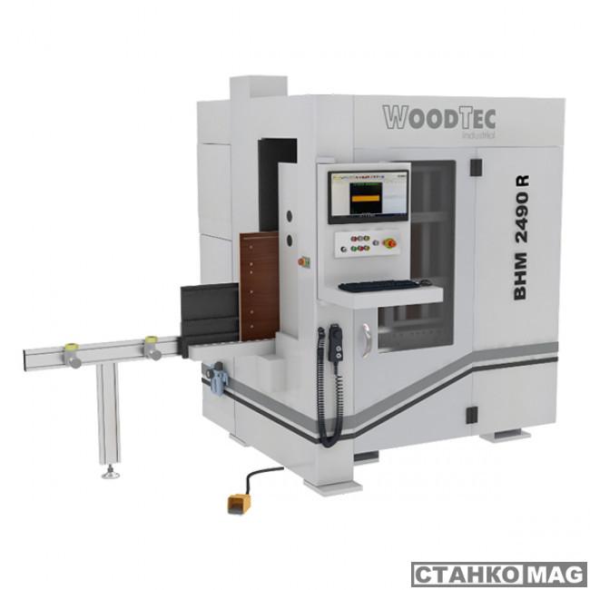 Сверлильно-присадочный станок с ЧПУ Woodtec BHM 2490R  в фирменном магазине WoodTec