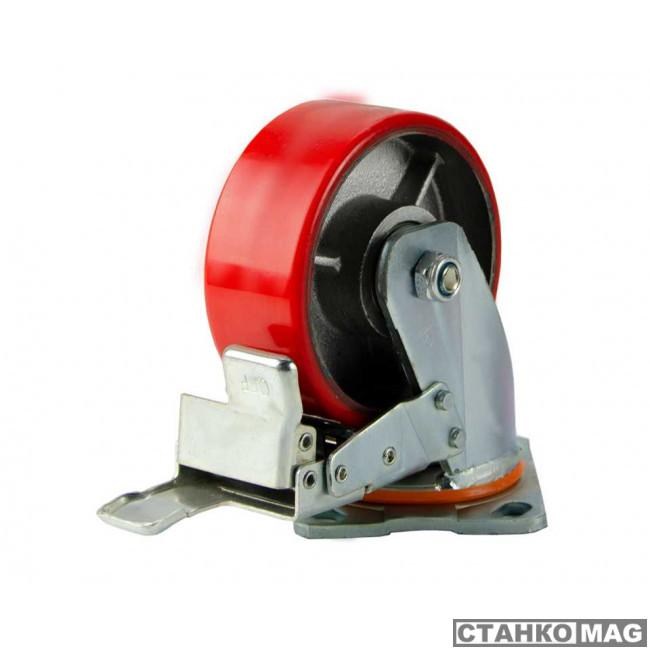 С-4102-DUS поворотное, с тормозом, г/п 350 кг 00018525 в фирменном магазине EURO-LIFT