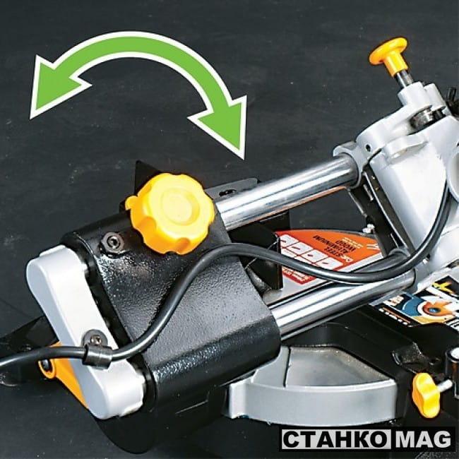 Evolution RAGE 3-S Пила торцовочная плунжерная
