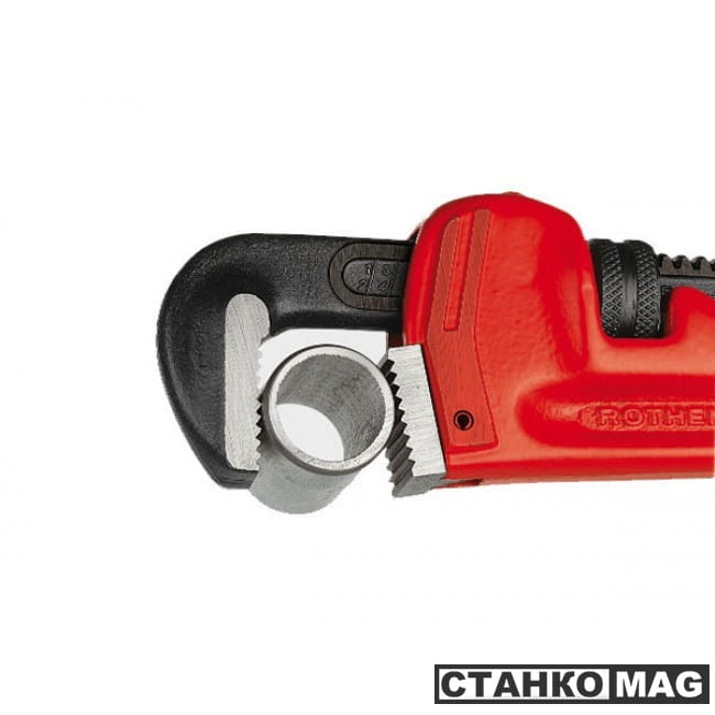 "Rothenberger 70153 Прямой разводной ключ HEAVY DUTY, 14"" сталь, 2"""