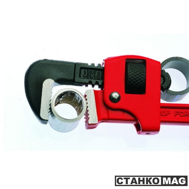 "Rothenberger 70351 Прямой разводной ключ STILLSON  10"", сталь, 1"""
