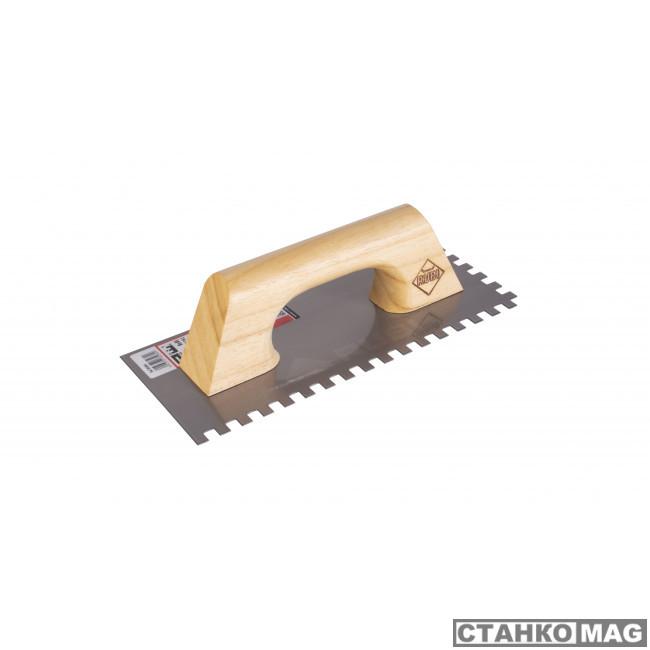 280 мм зуб 8x8 мм с деревянной ручкой 65984 в фирменном магазине RUBI