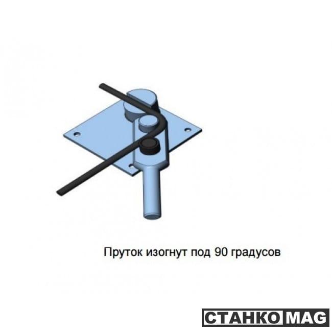 чертеж станка для гибки арматуры