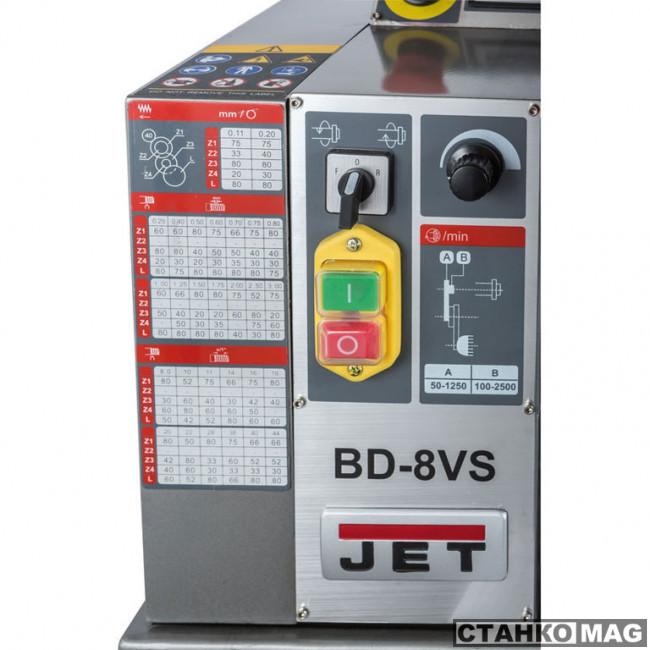 Настольный токарный станок Jet BD-8VS